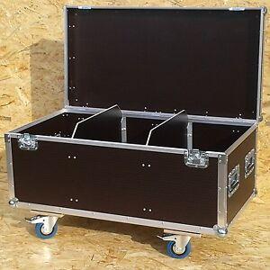 Kabelcase Flightcase Zubehörcase 100x40x50cm 4 Lenkrollen / deutsche Herstellung