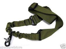 Airsoft 1 Point Sling Tactical Lanyard CQB QD BBs SMG Rifle AEG OD Softair (216)