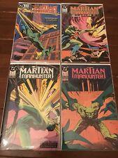 Martian Manhunter #1-4 Complete Set (1988) DC Comics