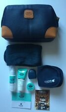 BN BRICS Business Class Amenity Kit (Soft Case) for Qatar Airways - Navy Blue