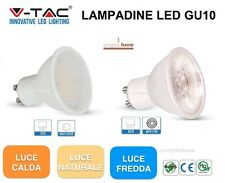 LAMPADINA FARETTO LED GU10 3W 5W 7W 8W 9W  V-TAC LAMPADA SPOT GU10 BULBO FARO