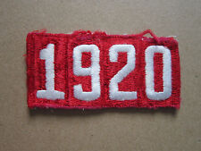 1920 BSA Woven Cloth Patch Badge Boy Scouts Scouting