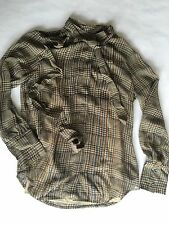 Nwt J Crew Collection Top Green Plaid Size 0
