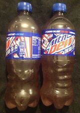 Dew.s.a. Mtn Mountain Dew DewSA Code Red,White Out,voltage 20oz 2- Full Bottles