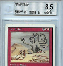 MTG Unlimited Rock Hydra BGS 8.5  NM-MT+ Card Magic WOTC 8244