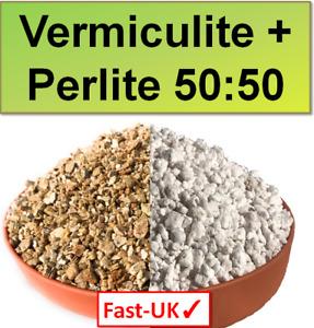 Vermiculite + Perlite MIX - 50:50 Blend for Soil Improvement & Aeration 1,5,10L