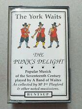 The York Waits - The Punk's Delight original 1992 UK 17th Century Music Cassette