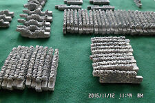 n gauge stone walling train set layout railway scenery 70 sections grey grey