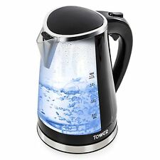 Tower T10012 LED Colour Changing Kettle 1.7 L 2200 W NEW