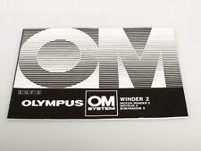 OLYMPUS OM System Winder 2 multilingual