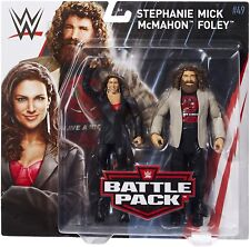 Wwe Battle Pack serie 49-Stephanie McMahon y Mick Foley