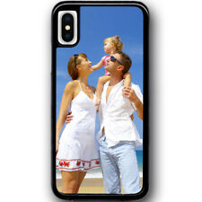 For Apple iPhone X Personalised PHOTO case customised Picture Image Logo