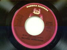 """MICHAEL HENDERSON """"BE MY GIRL / TIME"""" 45 MINT"""