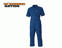 Dickies Lightweight Cotton Coverall Overall Reflective Orange