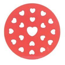 """Fox Run Heart Shape 9"""" Pie Top Crust Cutter - Decorative Pie Topper Mould"""