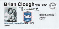 20 SEPT 2004 BRIAN CLOUGH IN MEMORIAM AS BRIGHTON MANAGER FOOTBALL COVER