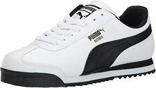 Size 10 - PUMA Roma Basic White - 353572-04