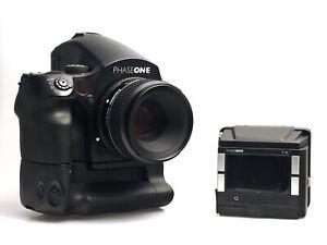 Phase One Set 645 DF+ mit Digitalback P45+ Schneider 80mm 1:2.8 LS und V-Grip