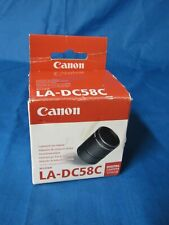 Canon LA-DC58C Conversion Lens Adapter Open Box Item NOS FAST FREE SHIPPING.