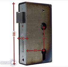 DIN 72 mm 1553301 Einsteckschloss mit Schlosskasten 30er Kastenprofil
