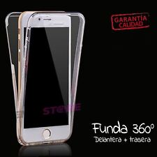 "Funda delantera y trasera 360 TRANSPARENTE IPHONE 8 PLUS 5.5"" carcasa transparen"