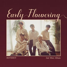 HOTSHOT [EARLY FLOWERING] 2nd Mini Album CD+POSTER+Photo Book+2p Card SEALED