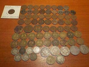 Mixed Lot of Circulated Coins from British Honduras
