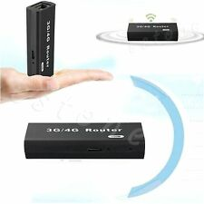 3G/4G Mini Portable Wireless WiFi Wlan Hotspot AP Client 150Mbps RJ45 USB Router