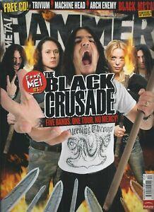 Metal Hammer #172 NOV 2007: MACHINE HEAD Trivium NIGHTWISH Rammstein ARCH ENEMY