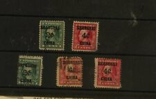US   Shanghai  China K1  ,K2  stamps  used      MS0310