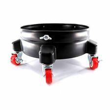 12 Inch Auto Drive Bucket Dolly Mop Wash Drum Cart Rolling Heavy Duty