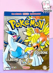 Pokemon Silberne & Goldene Edition Spieleberater Lösungsbuch  Zustand Akzeptabel