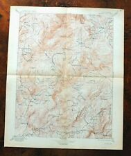 Bidwell Bar California Antique USGS Topo Map 1897 Oroville East Topographic