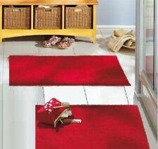 Spirella Eco Bathroom Rug Bath Mat Red 55 x 65cm. 100% Organic Cotton Swiss