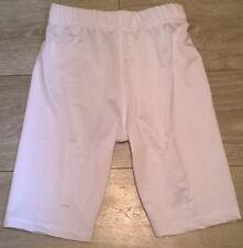 Boys & Girls White base layer cycling sports shorts Age 6 7 8 9 10 11 12 13 NEW