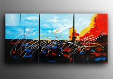 Framed Oil Painting Modern Abstract Canvas - Last 1