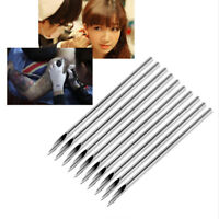 1/10Pcs Surgical Steel Piercing Needles Disposable Thin Small Body Supply New