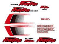 Pro-Link Swingarm Decals for Honda TRX250r /& ATC250r  250r TRX 250r ATC 250r red