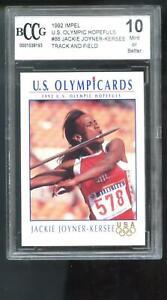 1992 Impel Olympicards Jackie Joyner-Kersee ROOKIE Olympics Graded Card BCCG 10