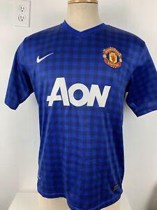 Manchester United Blue Jersey Nike Dri-Fit (Read Description)