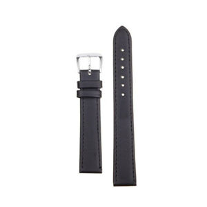 8 Sizes Width PU Leather Watch Band Solid Strap Men Women Watchband