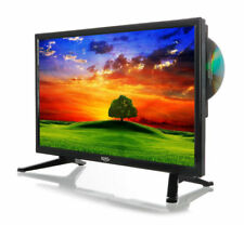 Xoro HTC 1946 18,5 Zoll, LED LCD, HD Fernseher mit Integriertem DVD-Player - Hochglanz‐Schwarz