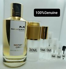 Mancera Instant Crush Sample Decants. Comes with a free sample and travel bag.