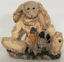 Boyds Bears Daphne Hare and Maisey Ewe Style #2011 Easter Collectible