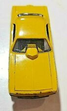 """1970 Mattel Hot Wheels Snake """"Red Line"""" (Yellow ) Us Funny Car w/Cage Great Car!"""