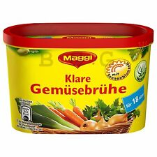 MAGGI - Vegetable Bouillon -  18 liter family box - German Production