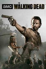 The Walking Dead Season 4 Rick and Michonne Poster Print, 24x36