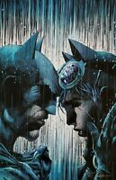 Jim Lee SIGNED Batman Catwoman DC Giclee on Canvas Limited Ed of 100 80th Anniv
