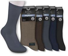 5 Paar Herren Socken Arbeit Business Herrensocken ohne Gummi schwarz blau braun