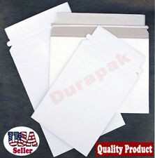 "500 PCS 6-3/8 x 6"" Self Seal Mailer Envelope w/ Easy Tear Strip Rigid Cardboard"